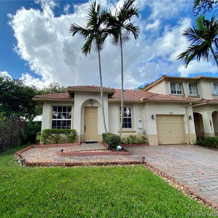 Rent this 3 bed condo on 1828 Northwest 79th Way in Pembroke Pines, FL 33024