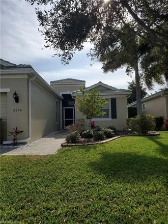 Rent this 2 bed house on 2676 Brightside Court in Cape Coral, FL 33991