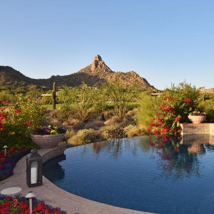 Rent this 4 bed house on Desert Highlands Golf Club in 10040 East Happy Valley Road, Scottsdale