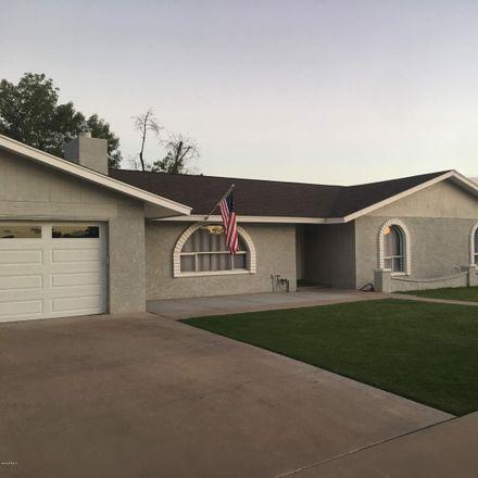 Rent this 3 bed house on 1503 East Ivyglen Street in Mesa, AZ 85203