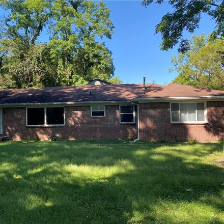 Rent this 3 bed house on 931 Fox Hill Drive in North Crows Nest, Indianapolis