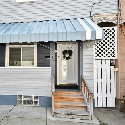 Rent this 3 bed house on 5240 Carnegie Street in Pittsburgh, PA 15201