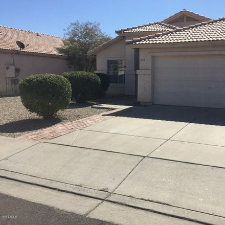 Rent this 3 bed house on 945 East Tyson Street in Chandler, AZ 85225