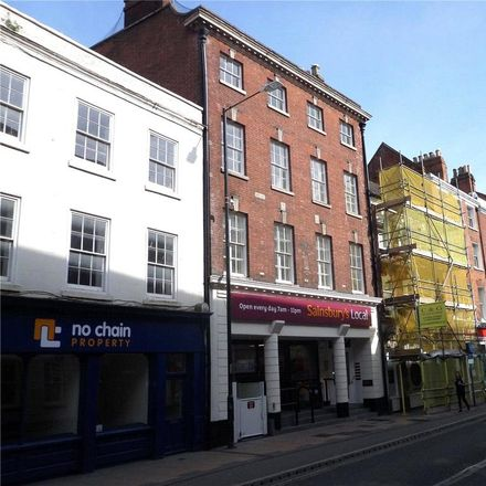 Rent this 1 bed apartment on Sainsbury's Local in 5 Foregate Street, Worcester WR1 1DB