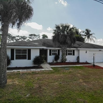 Rent this 3 bed house on 588 Beach Ave in Port Saint Lucie, FL