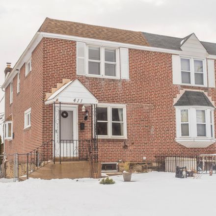 Rent this 3 bed townhouse on 411 North Oak Avenue in Clifton Heights, PA 19018