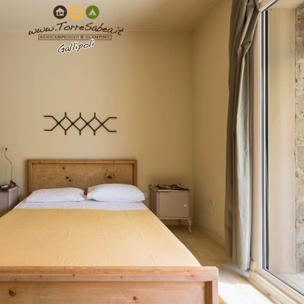 Rent this 1 bed house on AgriCampeggio & Glamping Torre Sabea in Strada Provinciale Santa Maria al Bagno alla Lecce-Gallipoli, 73014 Sannicola LE