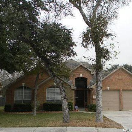 Rent this 3 bed house on 486 Cedar Bridge in Schertz, TX 78154