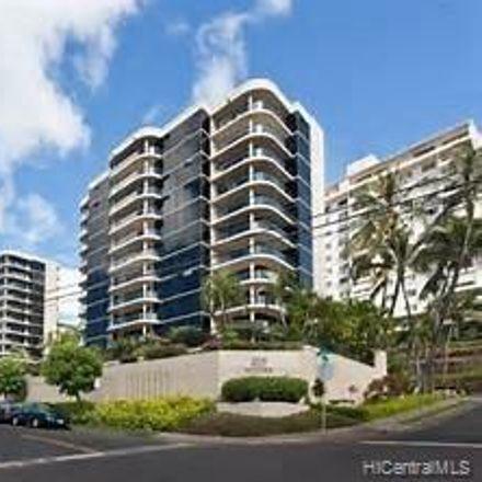Rent this 3 bed condo on 1015 Wilder Avenue in Honolulu, HI 96822