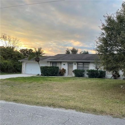 Rent this 2 bed house on 3111 1st Street Southwest in Lehigh Acres, FL 33976