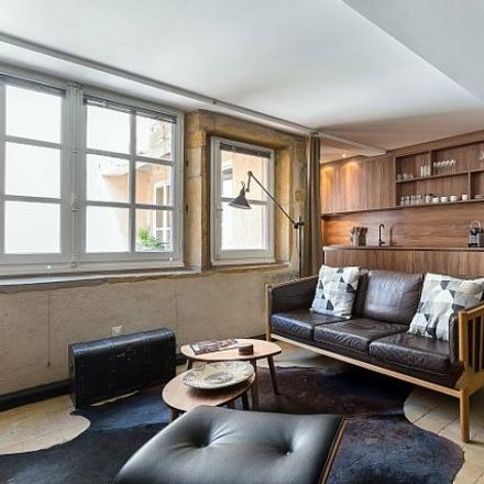 Rent this 2 bed apartment on 15 Rue René Leynaud in 69001 Lyon, France