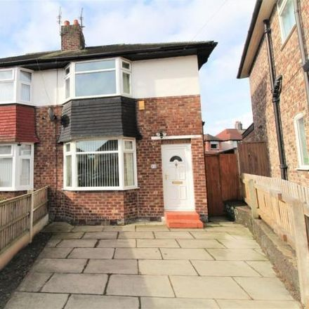 Rent this 2 bed house on Merthyr Grove in Liverpool L16, United Kingdom