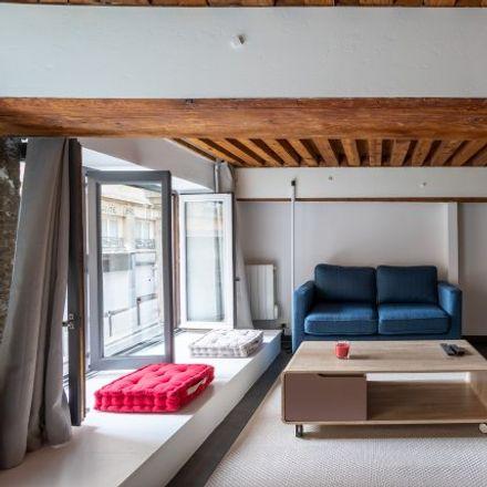 Rent this 1 bed apartment on Lyon in Lyon 1er Arrondissement, AUVERGNE-RHÔNE-ALPES