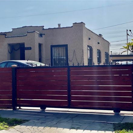 Rent this 1 bed house on 718 East 95th Street in Los Angeles, CA 90002