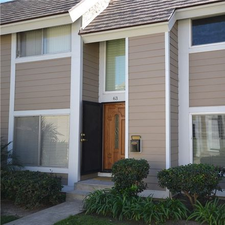 Rent this 3 bed townhouse on 63 Oval Road in Irvine, CA 92604