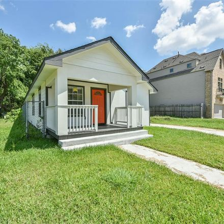Rent this 3 bed house on 2821 Holman Street in Houston, TX 77004