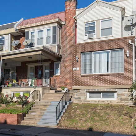Rent this 3 bed townhouse on 2535 South Ashford Street in Philadelphia, PA 19153