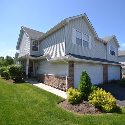 Rent this 3 bed townhouse on 498 Frieh Drive in Romeoville, IL 60446