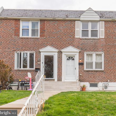 Rent this 3 bed townhouse on 508 Rively Ave in Glenolden, PA