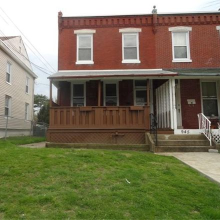 Rent this 3 bed townhouse on 943 Coates Street in Sharon Hill, PA 19079