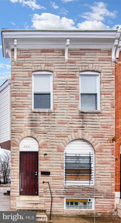 Rent this 3 bed townhouse on 2331 Ashland Avenue in Baltimore, MD 21205