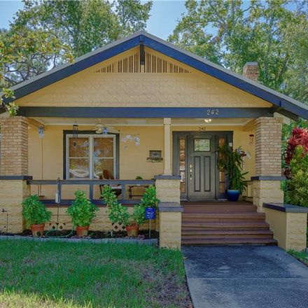 Rent this 2 bed house on 242 18th Avenue South in Saint Petersburg, FL 33705