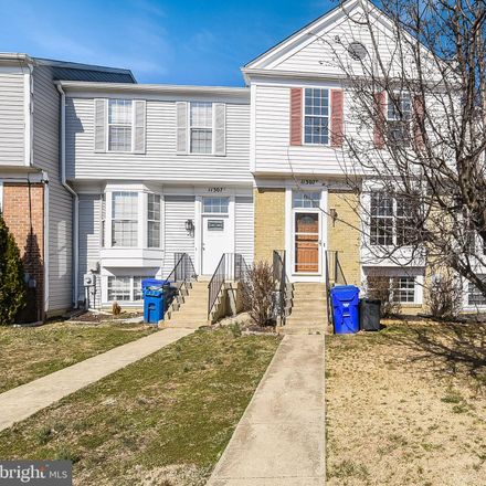 Rent this 3 bed townhouse on 11307 Golden Eagle Place in Millbrook, MD 20603