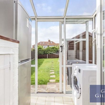 Rent this 3 bed apartment on Pickett Croft in London, HA7 1PL