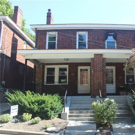 Rent this 3 bed house on Murdoch Street in Pittsburgh, PA 15217