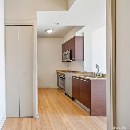 Rent this 1 bed apartment on One Rincon Hill South Tower in 425 1st Street, San Francisco