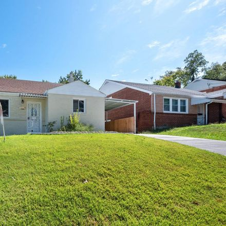 Rent this 4 bed house on 1814 Porter Avenue in Suitland-Silver Hill, MD 20746