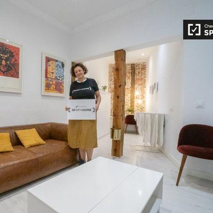 Rent this 1 bed apartment on Calle de la Colegiata in 11, 28012 Madrid