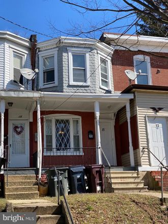 Rent this 3 bed townhouse on 15 West 23rd Street in Wilmington, DE 19802