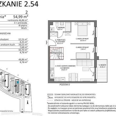 Rent this 3 bed apartment on Gdańska 30 in 83-034 Trąbki Małe, Poland