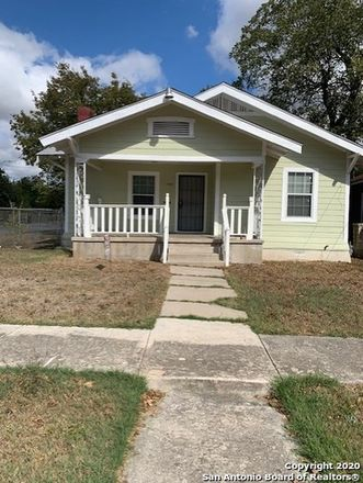 Rent this 2 bed house on 2323 Saunders Avenue in San Antonio, TX 78207