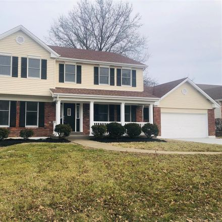 Rent this 4 bed house on Hunters Pointe Dr in Saint Charles, MO