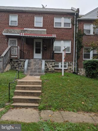 Rent this 3 bed townhouse on 9 South Abington Avenue in Baltimore, MD 21229