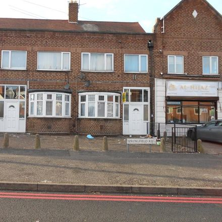 Rent this 1 bed apartment on 10A Springfield Road in Birmingham B13 9NY, United Kingdom