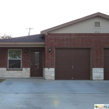 Rent this 3 bed duplex on 1718 Indian Trail in Harker Heights, TX 76548