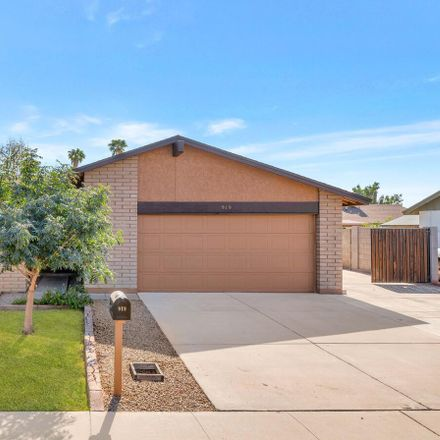 Rent this 3 bed house on 919 West Straford Drive in Chandler, AZ 85225