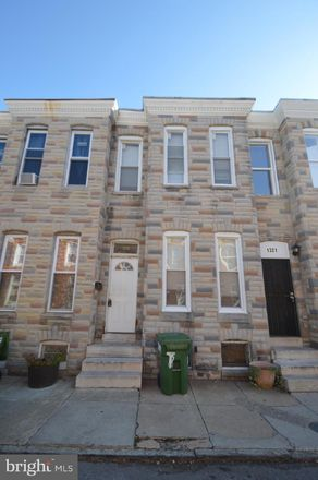 Rent this 3 bed townhouse on 1319 Glyndon Avenue in Baltimore, MD 21223