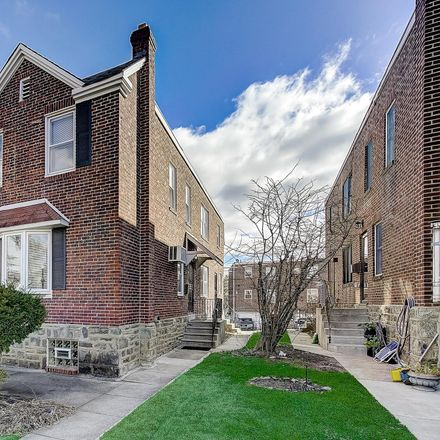 Rent this 3 bed townhouse on 1320 East Barringer Street in Philadelphia, PA 19119