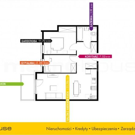 Rent this 3 bed apartment on Kąty Grodziskie 85 in 03-289 Warsaw, Poland