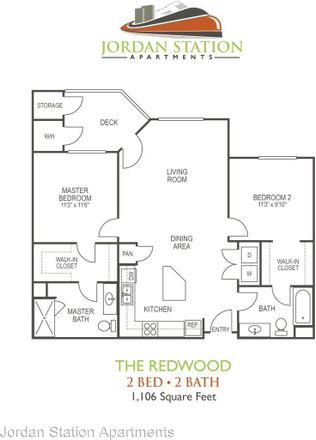 Rent this 2 bed apartment on Bangerter Highway in South Jordan, UT 84095