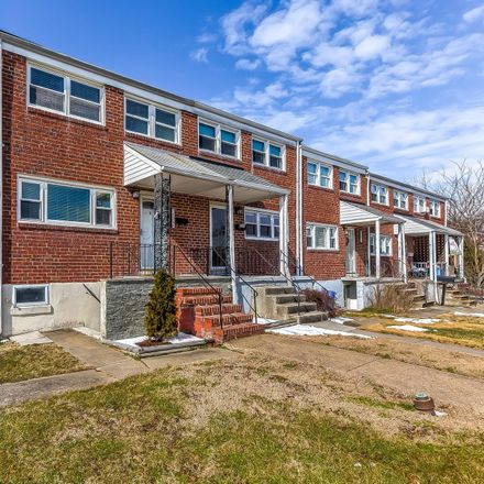 Rent this 3 bed townhouse on 5426 Council Street in Arbutus, MD 21227