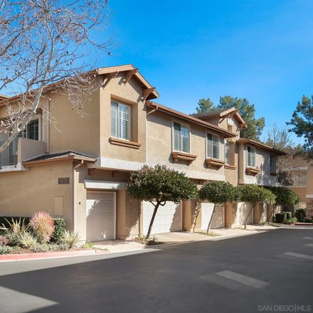 Rent this 2 bed townhouse on 9625 West Canyon Terrace in San Diego, CA 92123