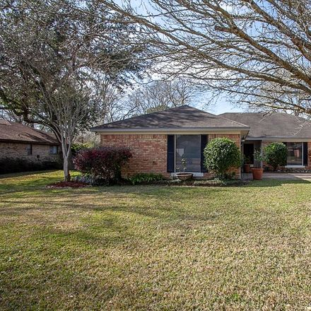 Rent this 4 bed house on Shakespeare Dr in Beaumont, TX