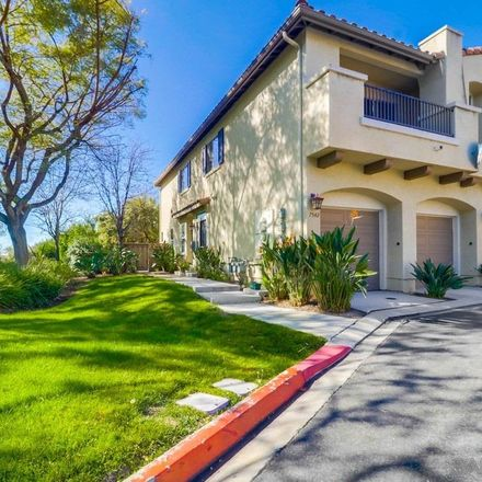 Rent this 2 bed townhouse on 7542 Camino de la Rosa in San Diego, CA 92127