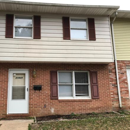 Rent this 3 bed townhouse on 21539 Old Missouri Street in Lexington Park, MD 20653