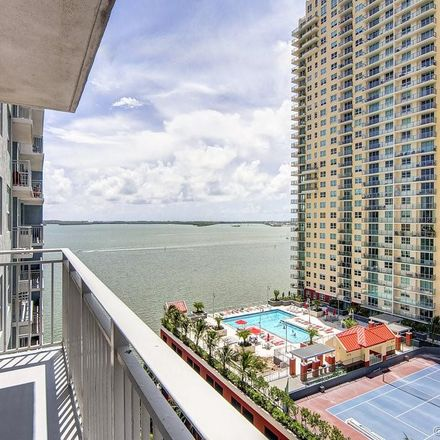 Rent this 2 bed apartment on The Yacht Club in 1111 Brickell Bay Drive, Miami